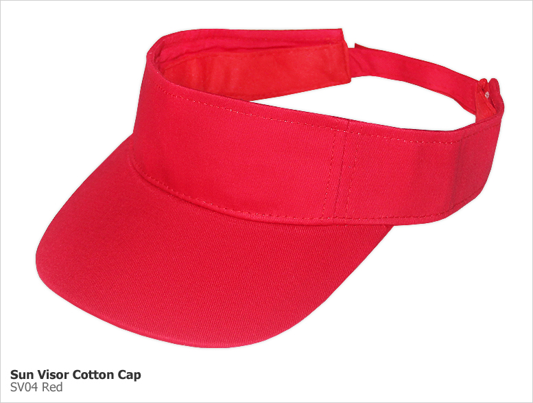 Type SV - Sun Visor Cotton Caps
